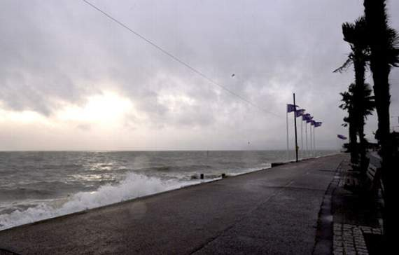 Storm Clodagh moves away but flood warning for Essex coast