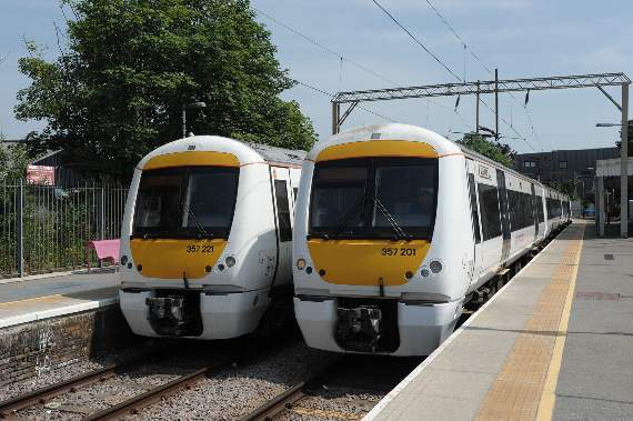 Disruption to train services on all c2c routes due to high winds