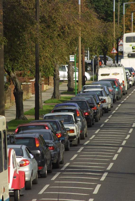 TRAFFIC: Congestion in Canvey